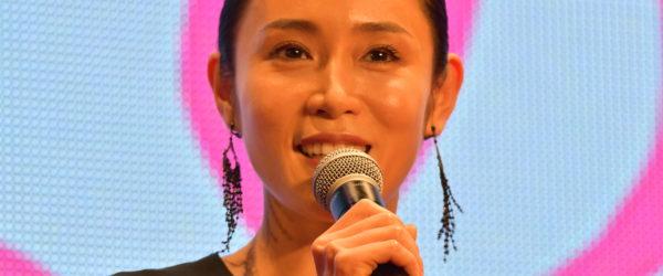 山口紗弥加さんが東京国際映画祭にて映画『人魚の眠る家』で挨拶