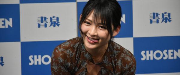 鈴木咲さん、「2019年度カレンダー発売」イベント